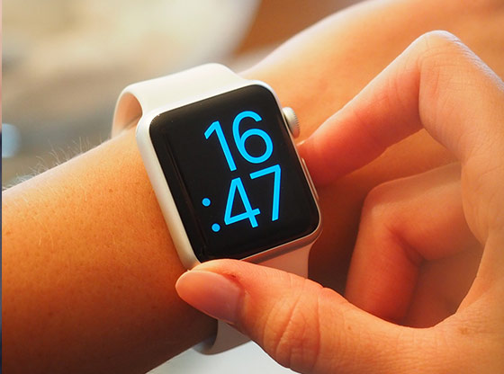 Upgrade your smart watch with the latest firmware.