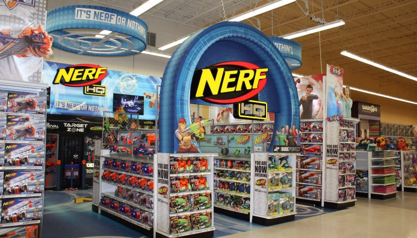 Nerf Hq Branded Environment Toys R Us Canada Consultony