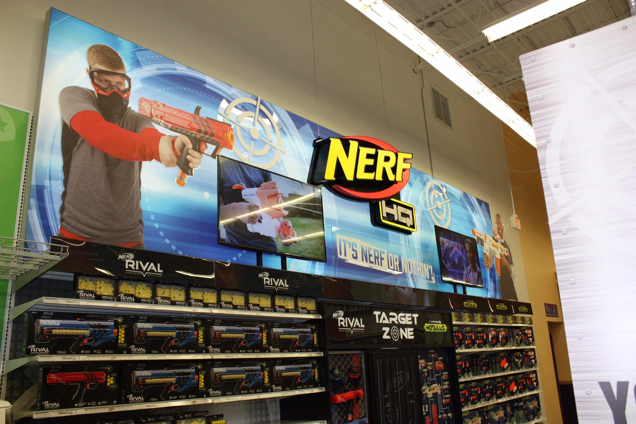 Nerf HQ Backwall