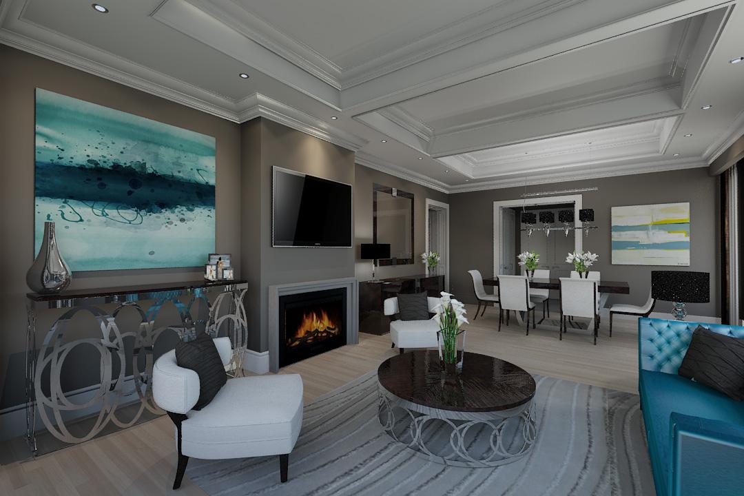 Luxury Hotel Interior Renderings