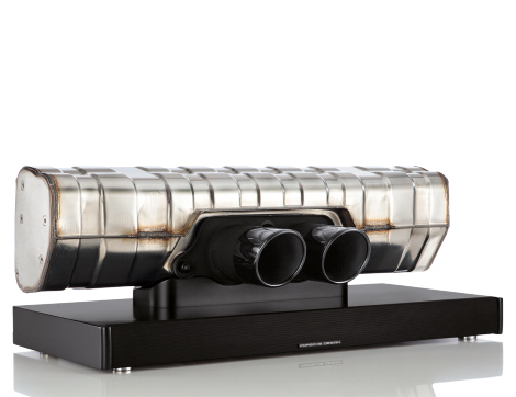 The $3500 Porsche Soundbar that is made from a 911 exhaust